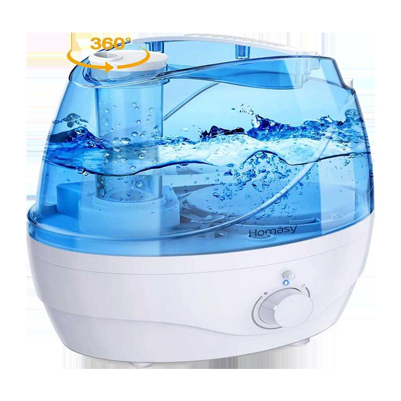 2. Homasy OceanMist 2.2L Bedroom Humidifiers